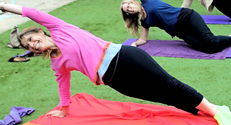 pilates side plank